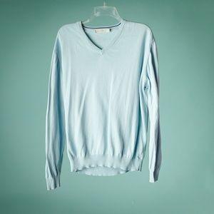 Ermenegildo Zegna L/52 Cotton V Neck Sweater